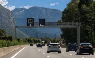 Une première voie de covoiturage a été inaugurée à Grenoble.