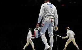 Yannick Borel et les épéistes tricolores ont été éliminés au premier tour à Tokyo.