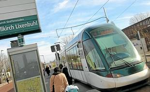 La ligne A sera prolongée vers  le centre d'Illkirch-Graffenstaden.