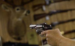 Un pistolet Smith & Wesson (illustration).