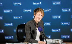Natacha Polony dans les studios d'Europe 1.