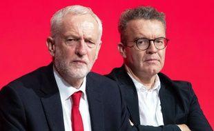 Jeremy Corbyn à la conférence annuelle du Labour, à Liverpool.