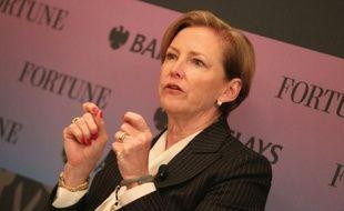 La PDG de DuPont Ellen Kullman, le 16 odctobre 2013 à Washington