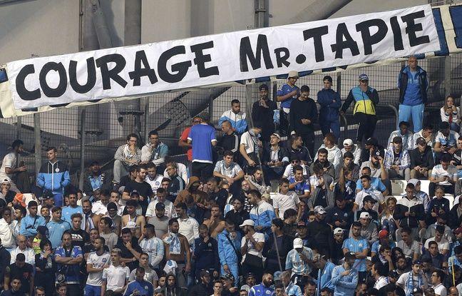 Olympique de Marseille: Les supporters essaiment des messages de soutien à Bernard «The Boss» Tapie