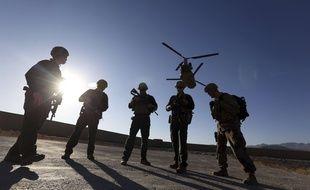 Un soldat américain a été tué et deux blessés samedi dans le sud de l'Afghanistan, le samedi 7 juillet 2018.