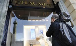 Un homme a braqué mardi après-midi la boutique du joailler Chaumet, près des Champs-Elysées.