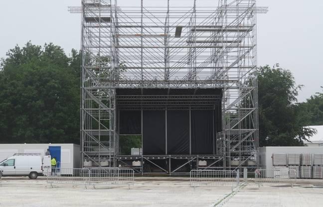 Voilà à quoi ressemble l'écran géant de la Fan Zone lilloise