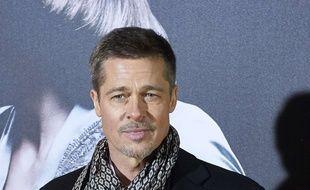 Brad Pitt à la première de «Alliés» à Madrid, le 22 novembre 2016.