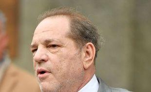 Harvey Weinstein, producteur américain, le 6 décembre 2019 au palais de justice à New York aux Etats-Unis