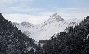 Le 19 janvier à Valfréjus, où une avalanche a emporté et tué cinq militaires le 18 janvier 2016..  / AFP / Jean-Pierre CLATOT