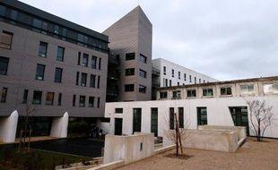 Le CHU de Reims, où se trouve Vincent Lambert, le 16 janvier 2014