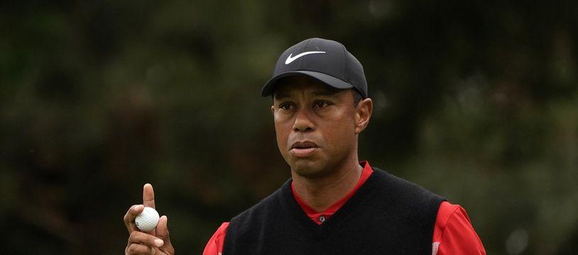Tiger Woods à l'Open du Japon, le 28 octobre 2019 à Tokyo.