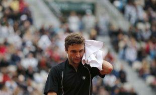 Gilles Simon à Roland-Garros, le 31 mai 2015