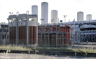 Le site de l'usine de production de gaz Air Products à Saint-Quentin-Fallavier en Isère.