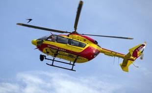 Un hélicoptère de la sécurité civile est intervenu