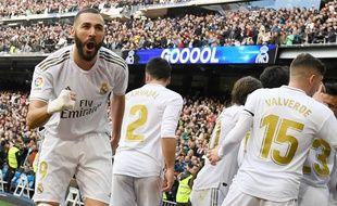 Karim Benzema, légende vivante du Real Madrid.