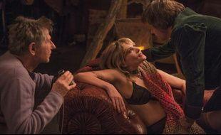 Roman Polanski, Emmanuelle Seigner et Mathieu Amalric