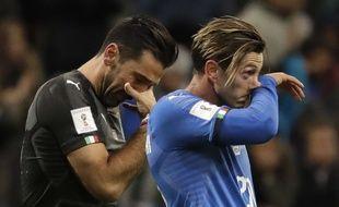 Gigi Buffon, en larmes lundi soir
