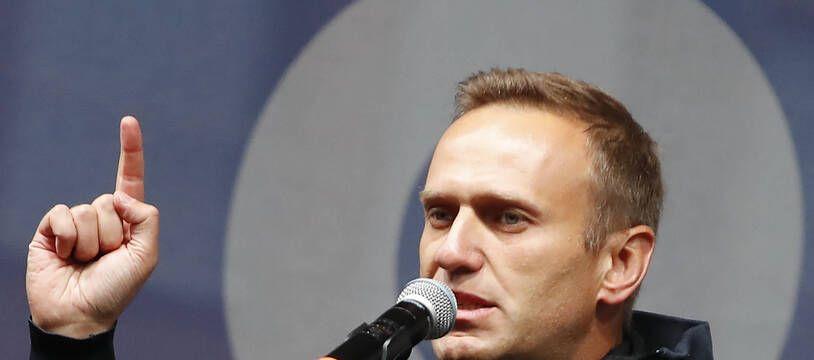 Alexei Navalny, l'opposant russe, le 29 septembre 2019 à Moscou.