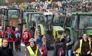 Les anti-aéroport avaient déjà manifesté sur le périphérique nantais le 9 janvier 2016.