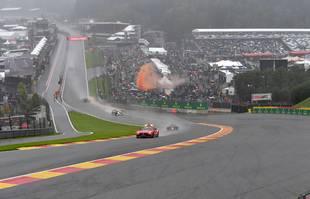 Grand Prix de Belgique, sur le circuit de Spa Francorchamps, le 29 août 2021.