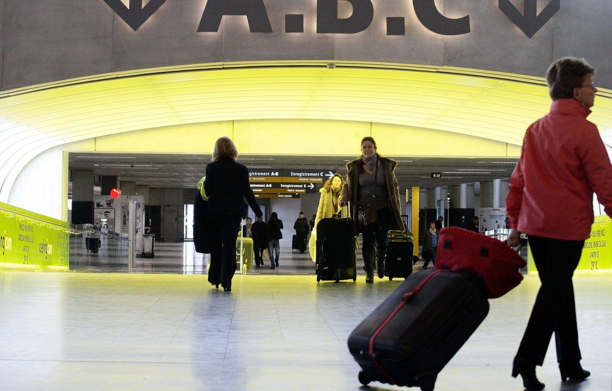 Zone d'embarquement et d'enregistrement des passagers à l'aéroport  Toulouse-Blagnac. 26/012012 Toulouse – FRED SCHEIBER / 20 MINUTES