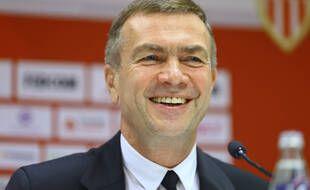 Oleg Petrov en conférence de presse le 24 mai 2021.