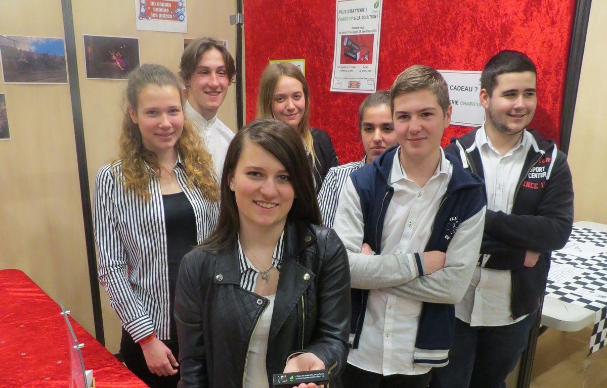 Des lycéens du lycée du Sacré-Coeur ont fontdé Charg'up – J. Urbach/ 20 Minutes