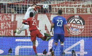 Kingsley Coman a inscrit son premier but en Ligue des champions