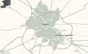 Le quartier de Saint-Acheul, à Amiens, dans la Somme.