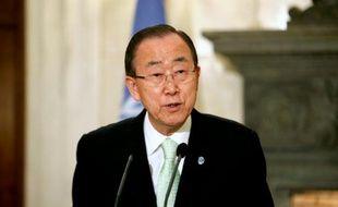 Le secrétaire général de l'ONU Ban Ki-moon est attendu vendredi dans le sud de la France, avant d'être reçu samedi par François Hollande