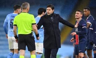 Marco Verratti s'est chauffé avec l'arbitre en fin de rencontre mercredi.