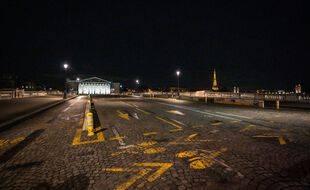 Paris durant le couvre-feu, le 15 décembre 2020.