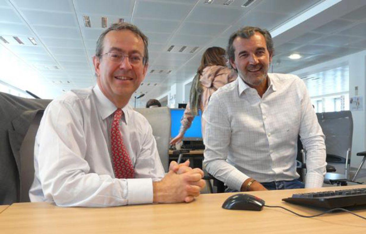 François Payelle et Laurent Vimont, experts immobiliers – G. LABARTHE / 20 MINUTES