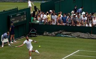 Benoît Paire à Wimbledon, le 2 juillet 2015.