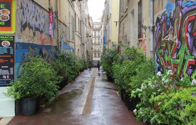 La rue de l'Arc à Noailles (archives)