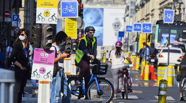 Paris: La piste Sébastopol, «l'axe cyclable le plus emprunté au monde»