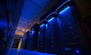 Des serveurs informatiques dans un data center (illustration).