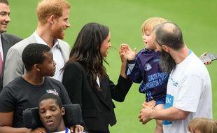 Le duc et la duchesse de Sussex en visite officielle en Irlande.