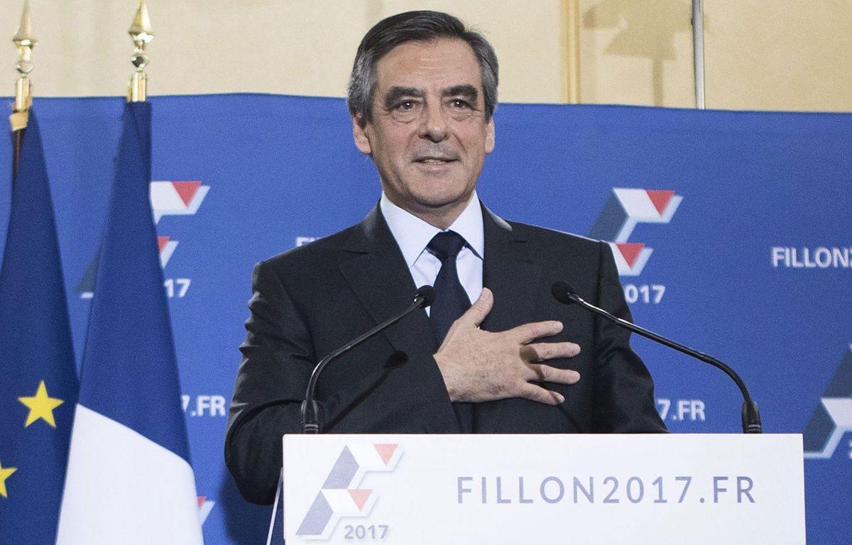 François Fillon, vainqueur de la primaire à droite, le 27 novembre 2016 à Paris. – CHINE NOUVELLE/SIPA