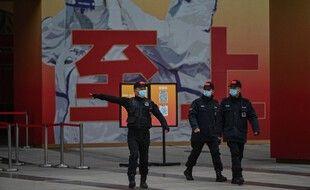 L'entrée du musée de Wuhan sur le Covid-19, le 30 janvier 2021 (illustration).