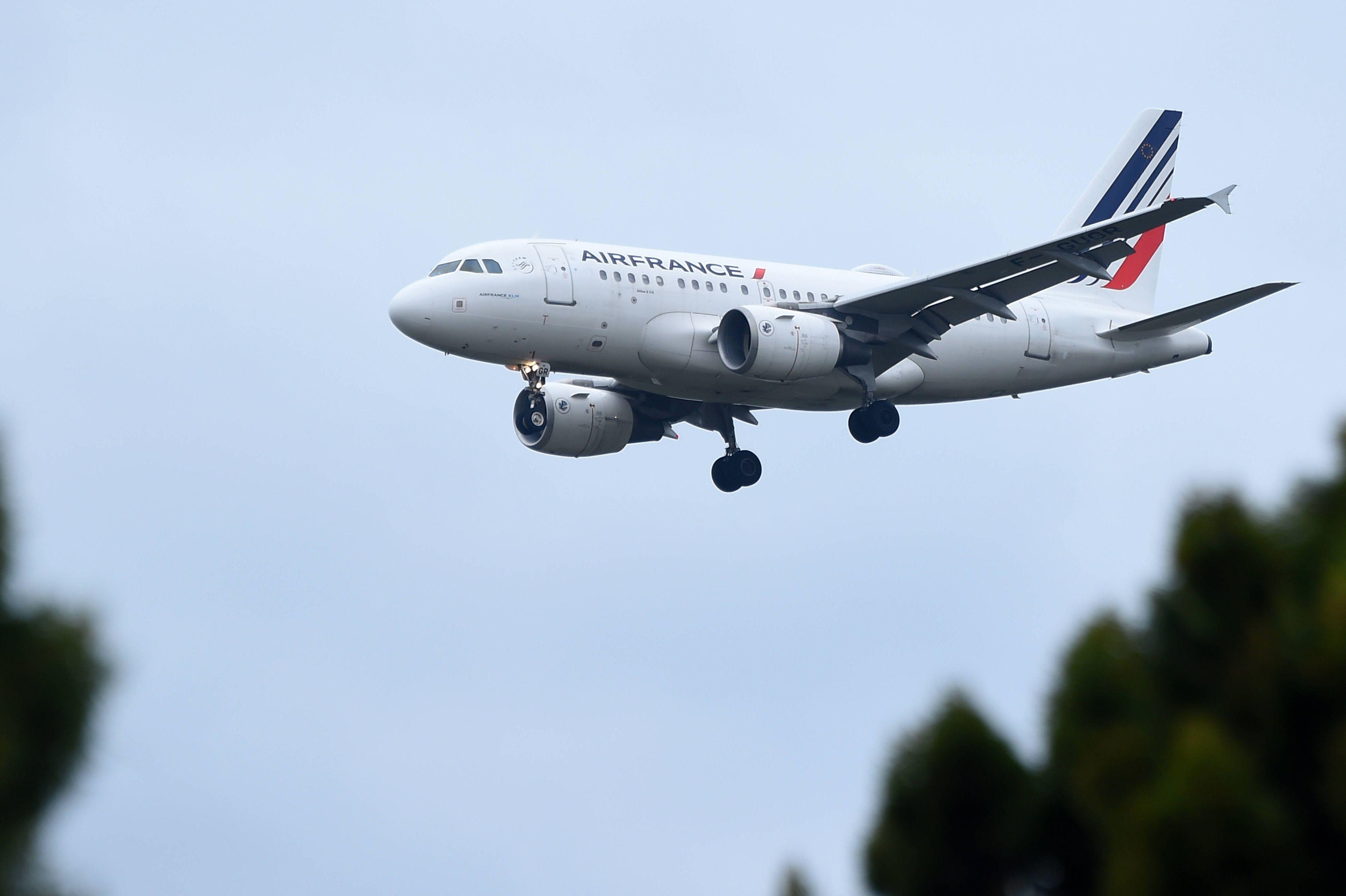 (Illustration) Le Boeing A318 de la compagnie Air France.