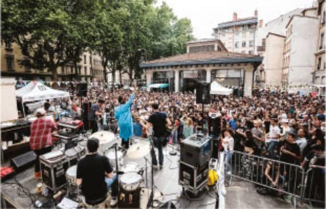 Les événements gratuits proposés dans le cadre de Nuits Sonores ont boosté cette année la fréquentation du festival