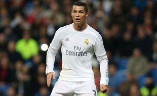 Cristiano Ronaldo le 20 avril 2016 lors du match entre le Real Madrid et Villarreal.