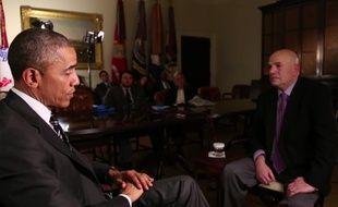 Barack Obama interviewe David Simon, le créateur de la série «The Wire».