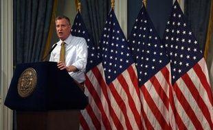 Le maire de New York Bill de Blasio , le 3 juillet 2014 à New York