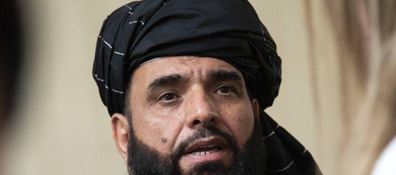 Suhail Shaheen, porte-parole des talibans, le 28 mai 2019.
