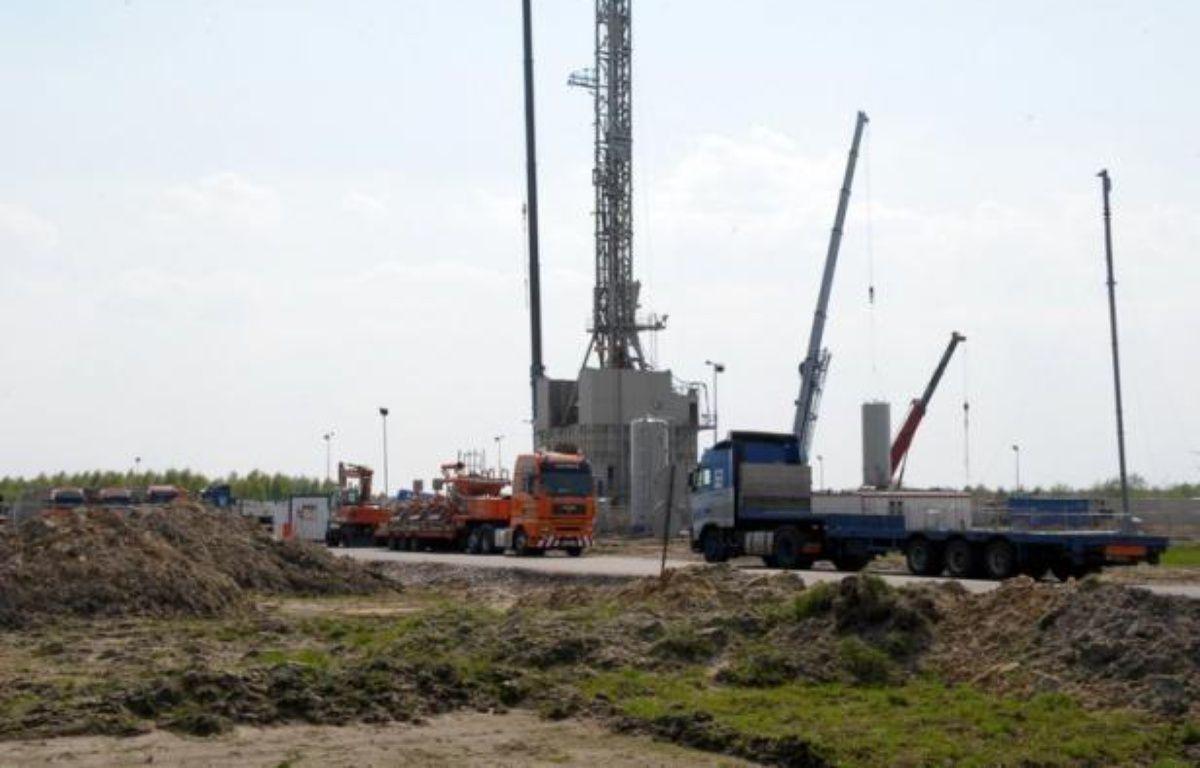 """Des forages sur un gisement de gaz de schiste dans le Nord de l'Angleterre sont """"très probablement"""" à l'origine de secousses sismiques ayant touché la région en avril et mai dernier, a estimé un rapport d'experts publié mercredi. – Janek Skarzynski afp.com"""