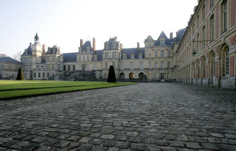Château de Fontainebleau, en Seine-et-Marne.