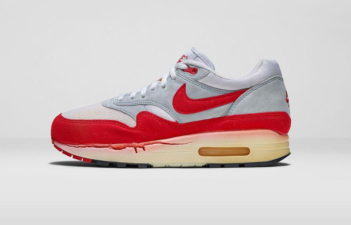 Nike réédite la célèbre Air Max 1 Jewel White & Red | NOBODY